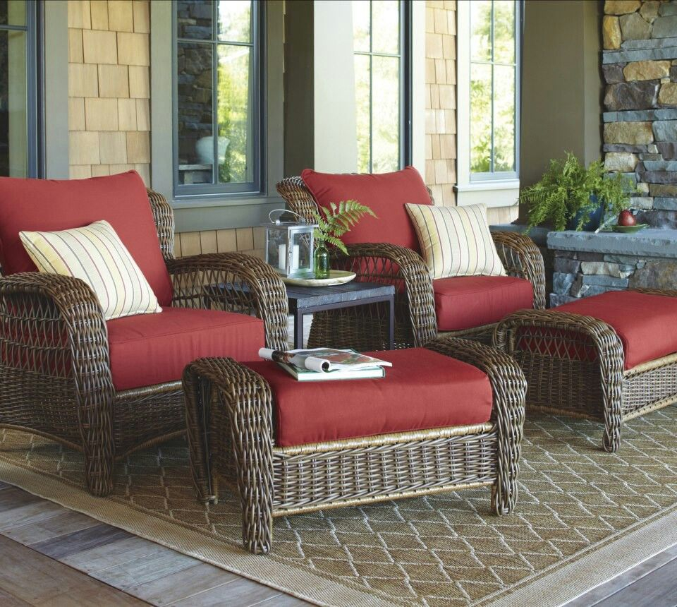 Comfortable Patio Or Front Porch Furniture Outdoorgarden In 2019