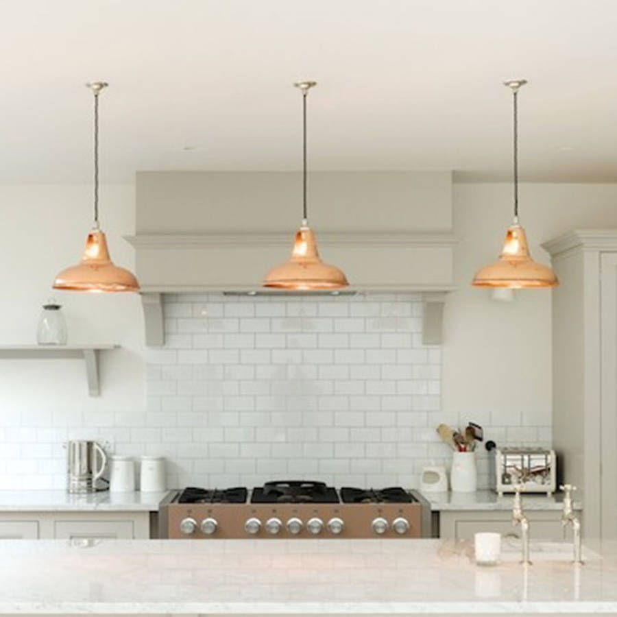 Coolicon Industrial Copper Pendant Light Lamps Kitchen Ceiling