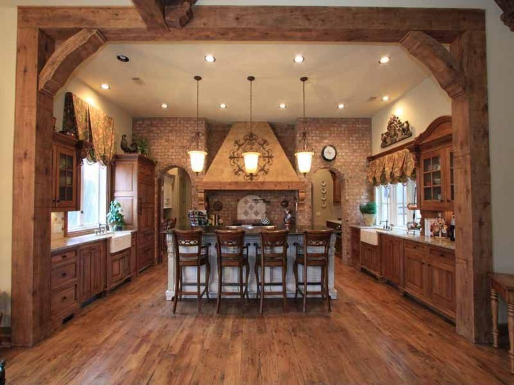 Country Rustic Kitchen Ideas Home Decor Furniture