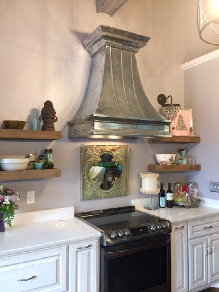 Custom Wall Zinc Range Hood In 2019 Custom Home Products Range