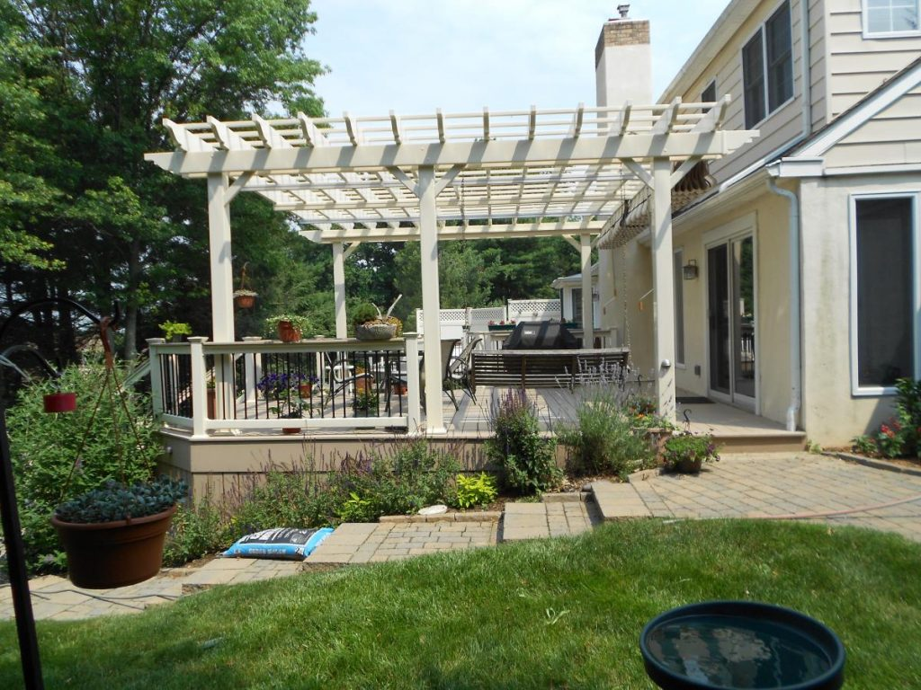 Deck Pergola Ideas Credible Home Decor Deck Pergola Design Ideas
