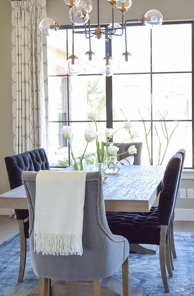Decked Styled Spring Tour Decorating Ideas Dining Room Table