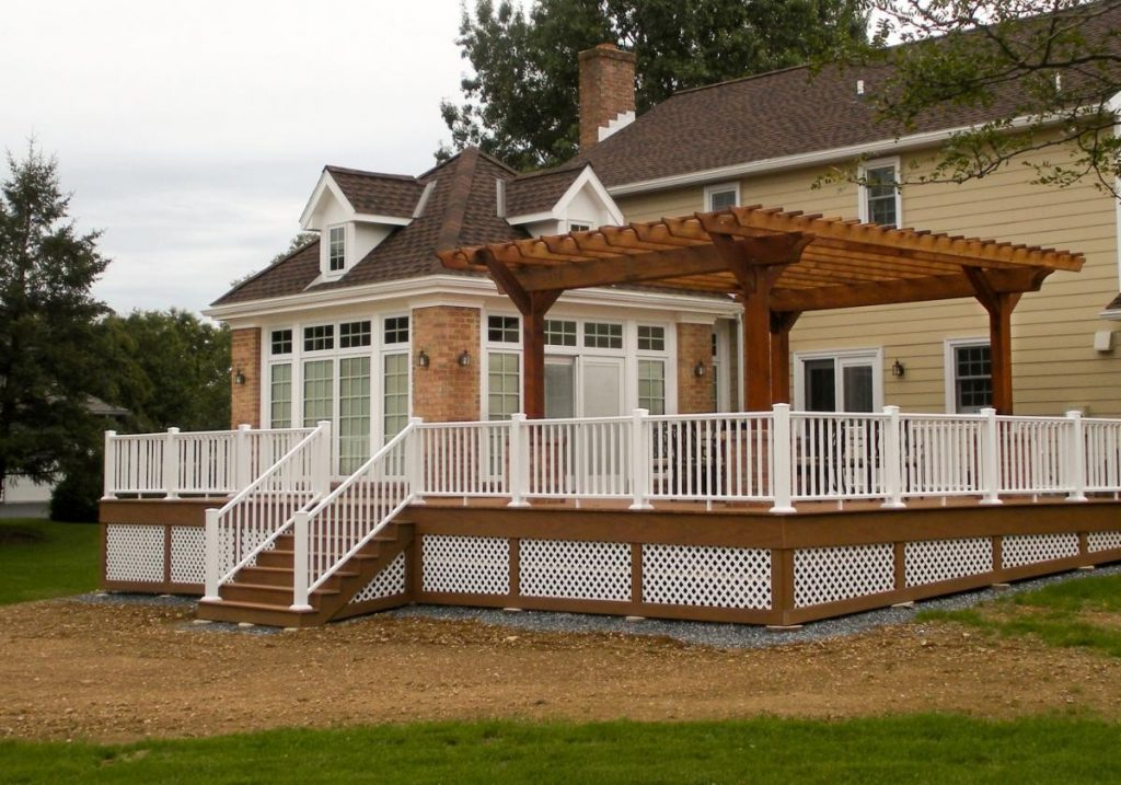 Decks With Pergolas Photo Gallery Decks Ideas