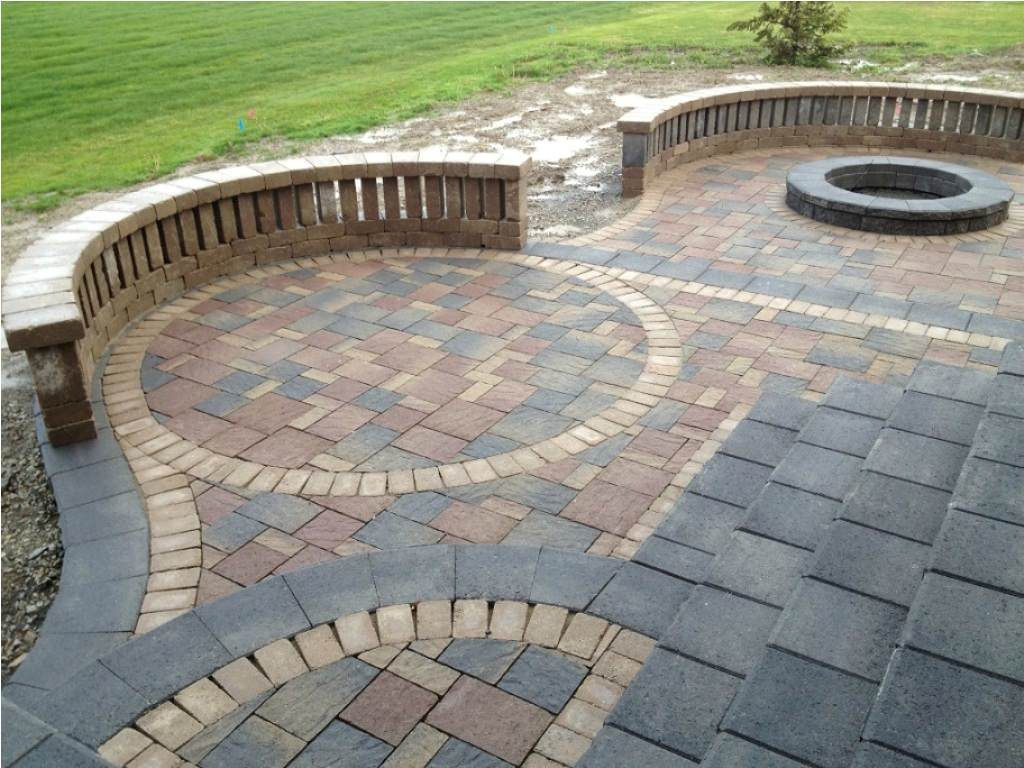 Designs For Brick Paving Brick Paver Patio Designs Bright Green
