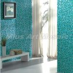 Recycled Glass Tiles Bathroom