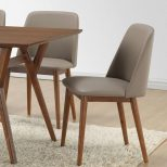 Dining Chair Wood And Fabric Dining Room Chairs Colorful