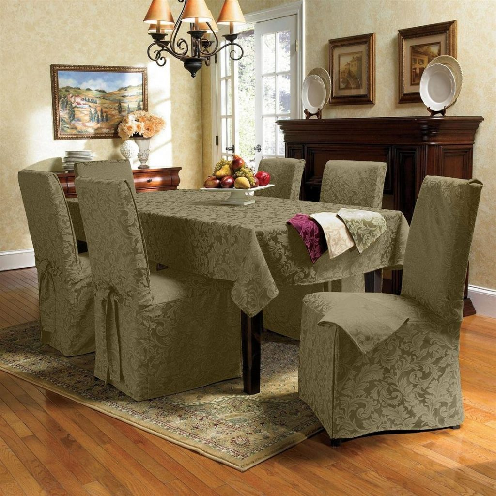 Dining Room Chair Slipcovers Benefit Bistrorestaurant Dining