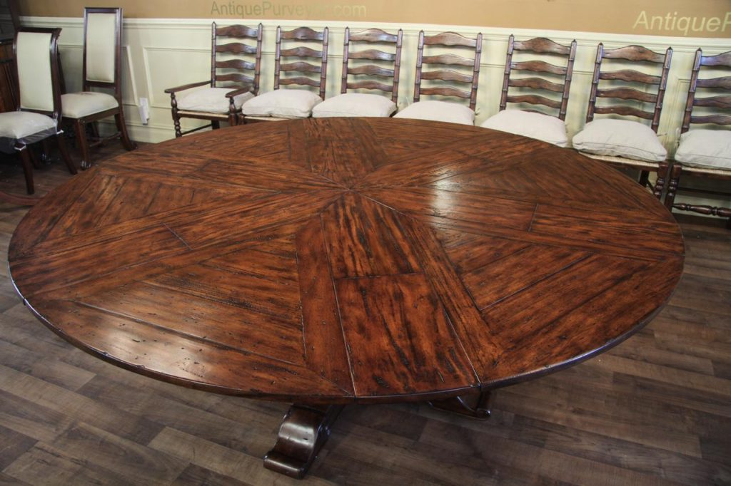 Dining Room Round Tables With Leaves Home Interior Blog