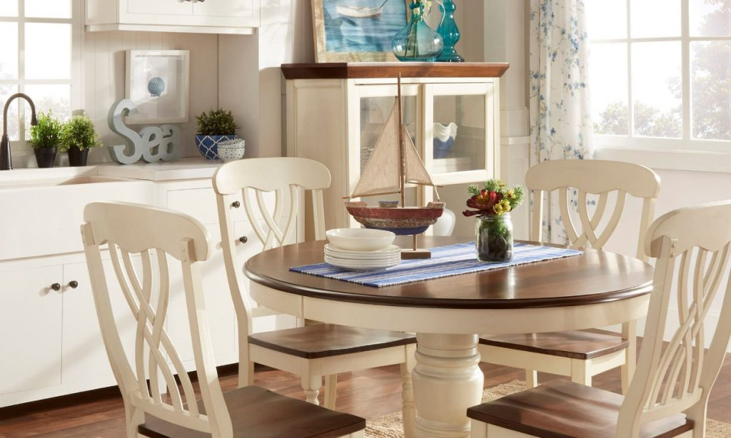 Dining Room Set Green Dining Chairs Beach House Dining Table And