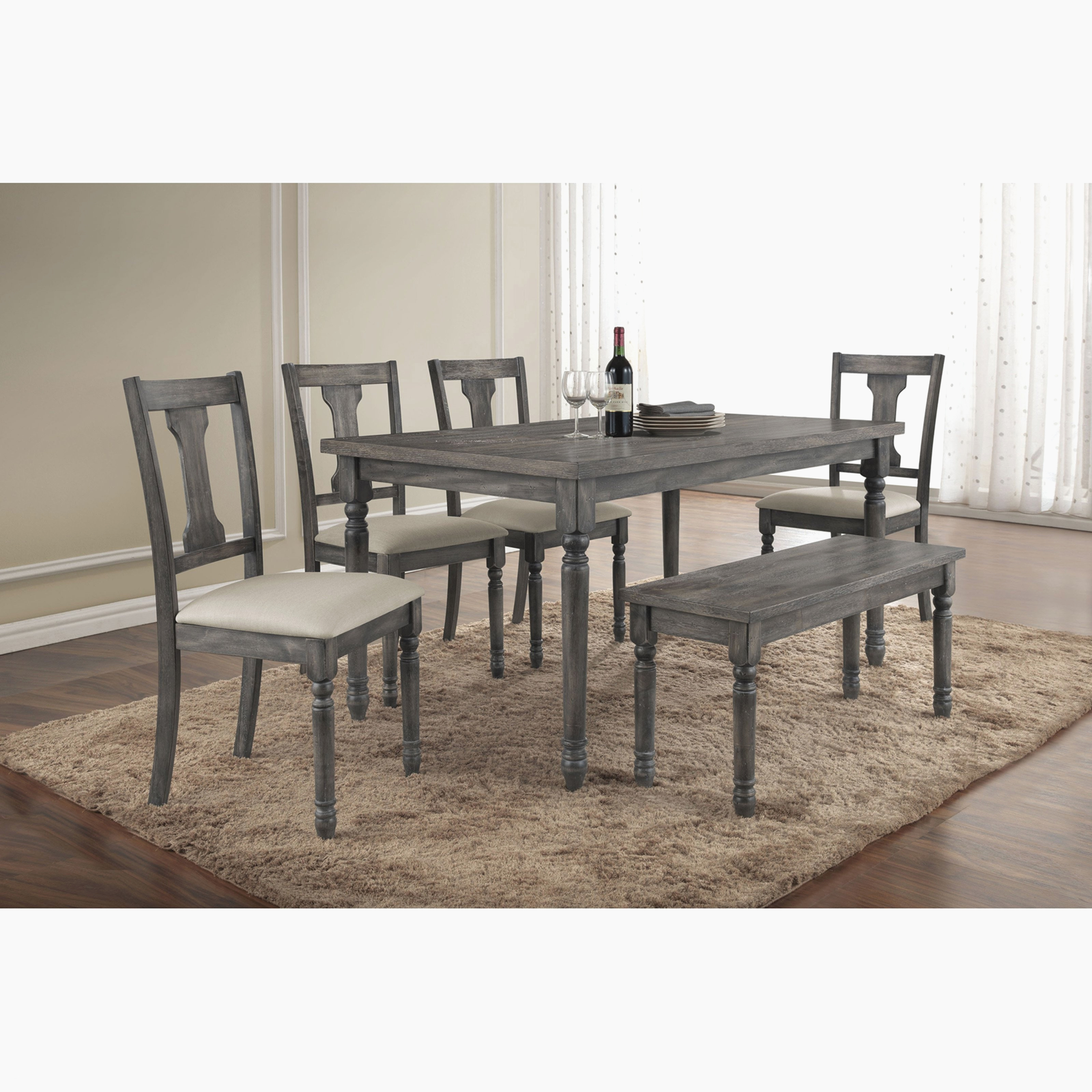 Dining Table Set With Bench Modern White Dining Room Sets Unique Layjao
