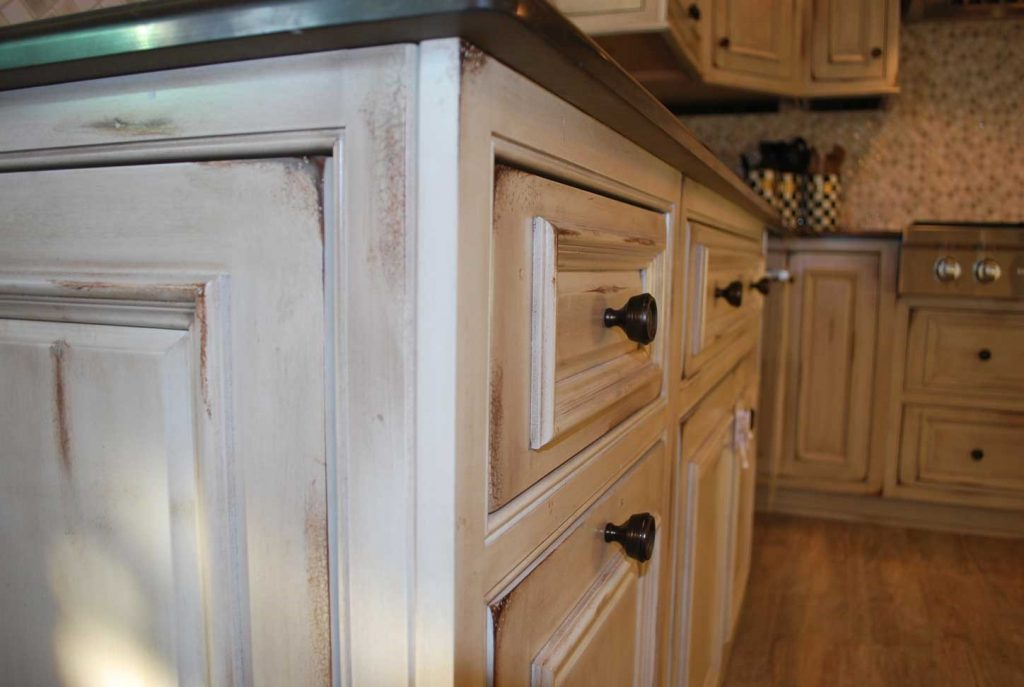 Distressed White Kitchen Cabinets 3 Concept Ii Bathroom Kitchen