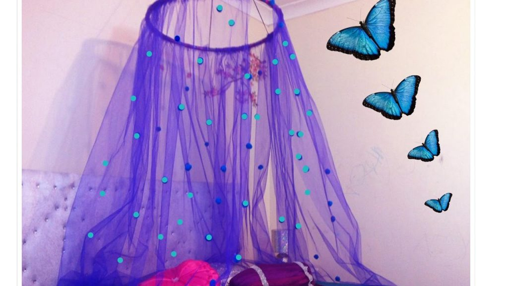 Diy Canopy In 15 Minuteseasy To Make Bed Canopy Perfect For Small
