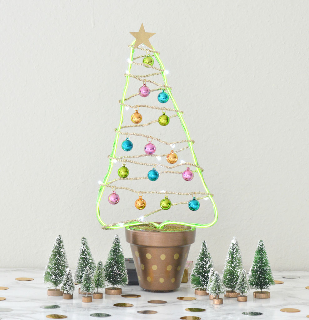 Diy Flower Pot Christmas Tree 8 Steps With Pictures
