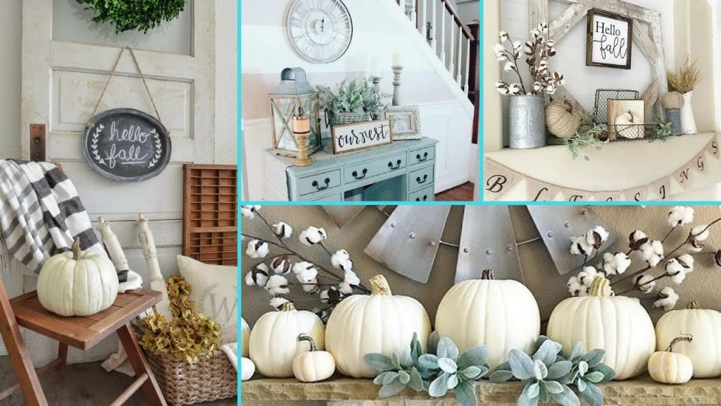 Diy Rustic Shab Chic Style Fall Decor Ideas Home Decor