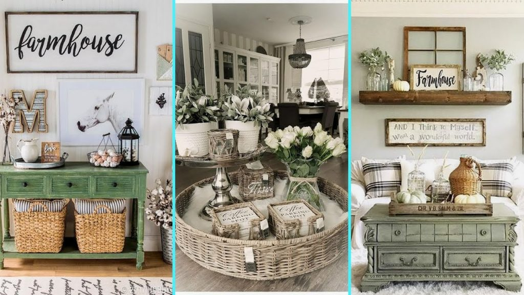 Diy Rustic Shab Chic Style Farmhouse Decor Ideas Home Decor