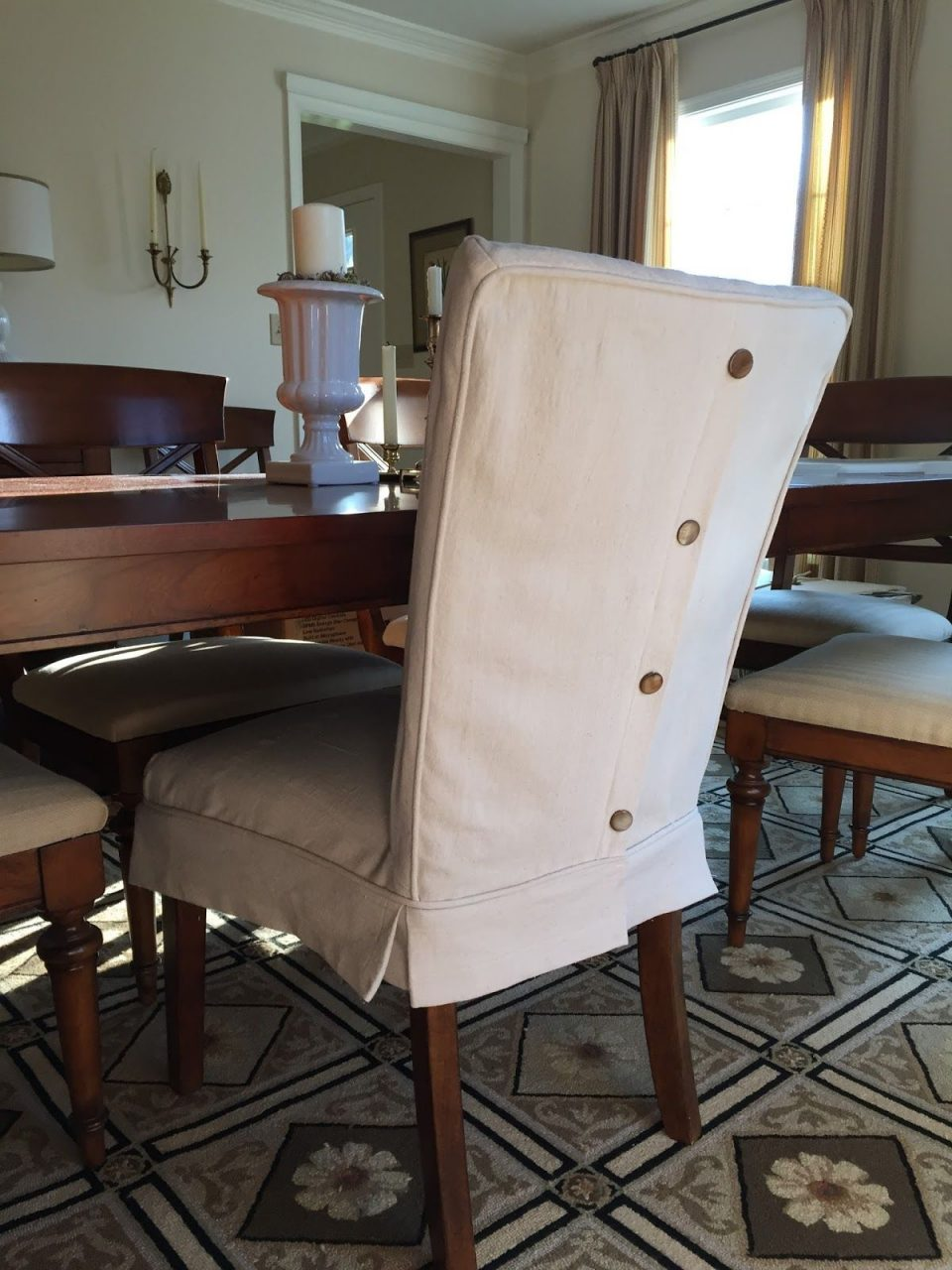 Dropcloth Slipcovers For Leather Parsons Chairs Slipcovers In 2019