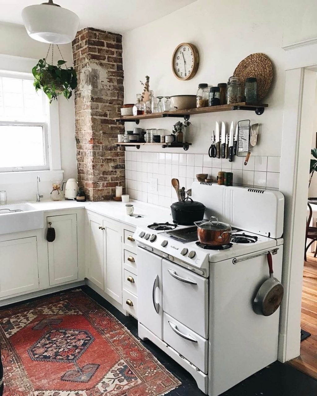 Eclectic Cottage Kitchen Design And Decorating Ideas