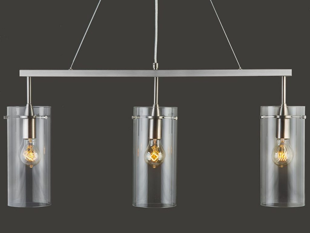 Effimero Large 3 Light Kitchen Island Hanging Light Lighting