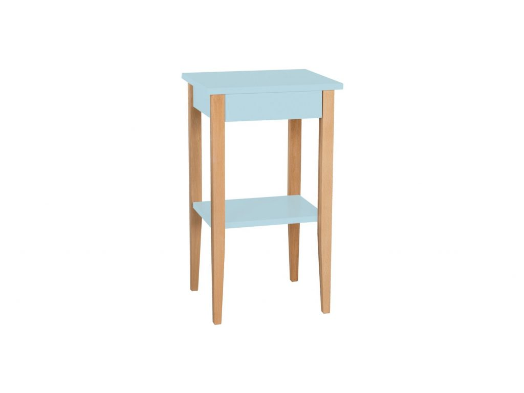 Entlik Side Table Light Turquoise Light Turquoise Furniture
