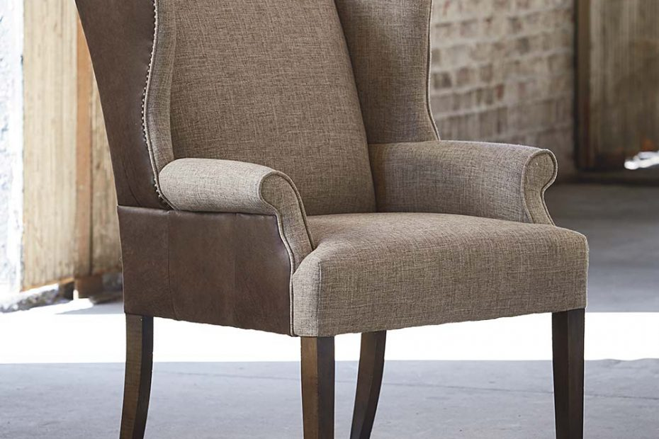 Fabric Leather Dining Chair Arden