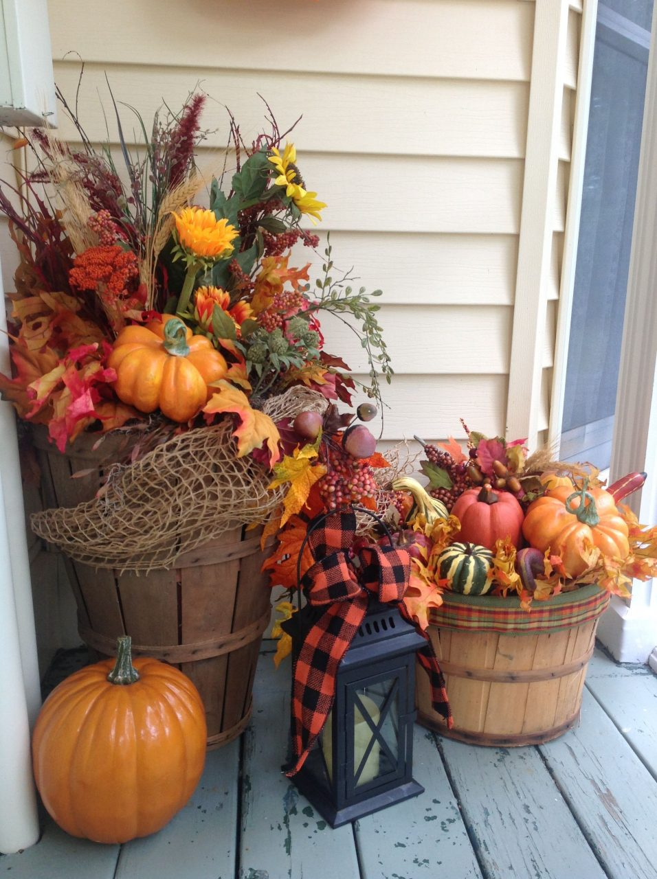 Fall Decor Decorations For Fall Outside Fall Banister Decor Fall
