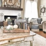 Rustic Living Room Fall Decor