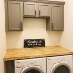 Laundry Room Cabinets and Countertop