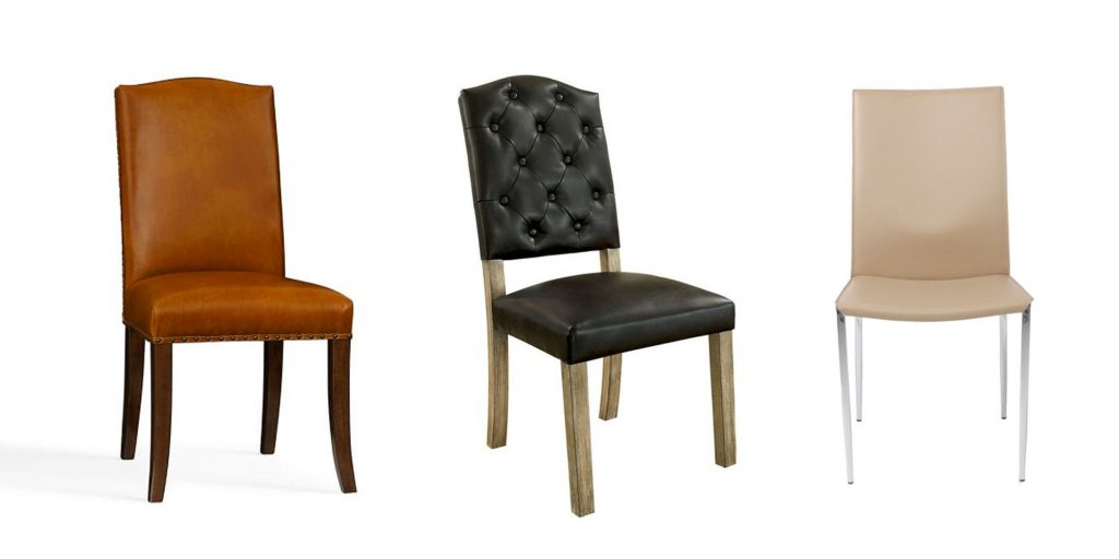 Faux Leather Dining Room Chairs Black Velvet Dining Chairs