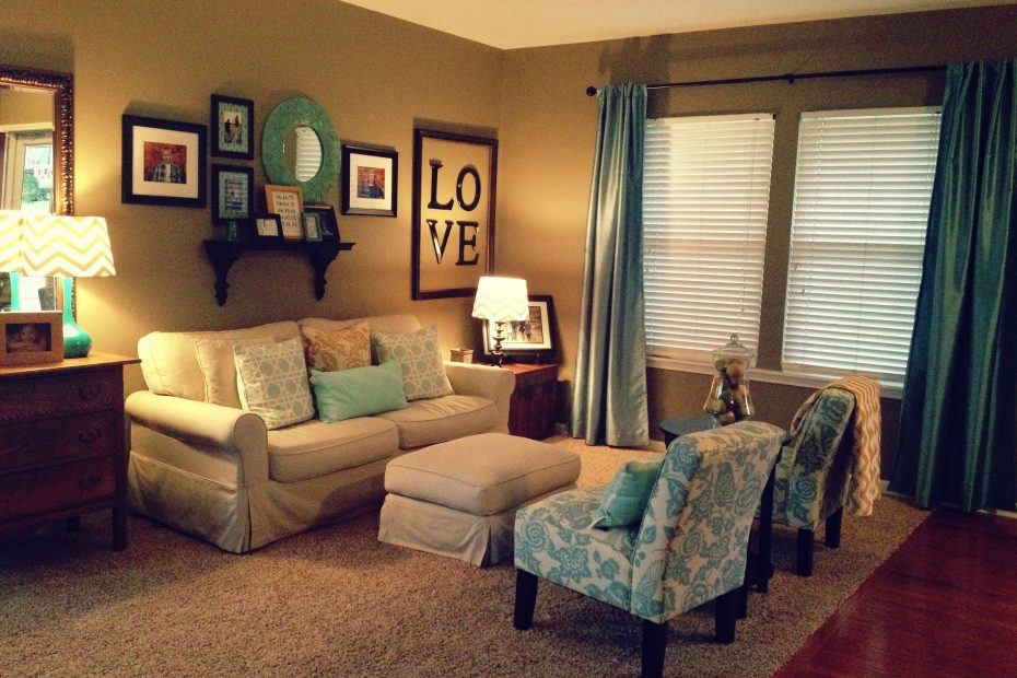 Finally My Sitting Room Facelift Is Done Teal Gold And Greige