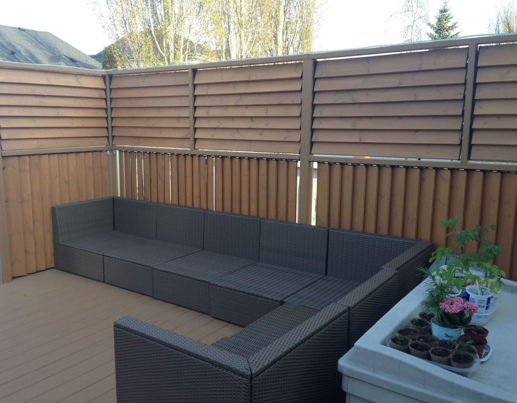 Flexfence Creation Cameron From Edmonton Alberta Louvered