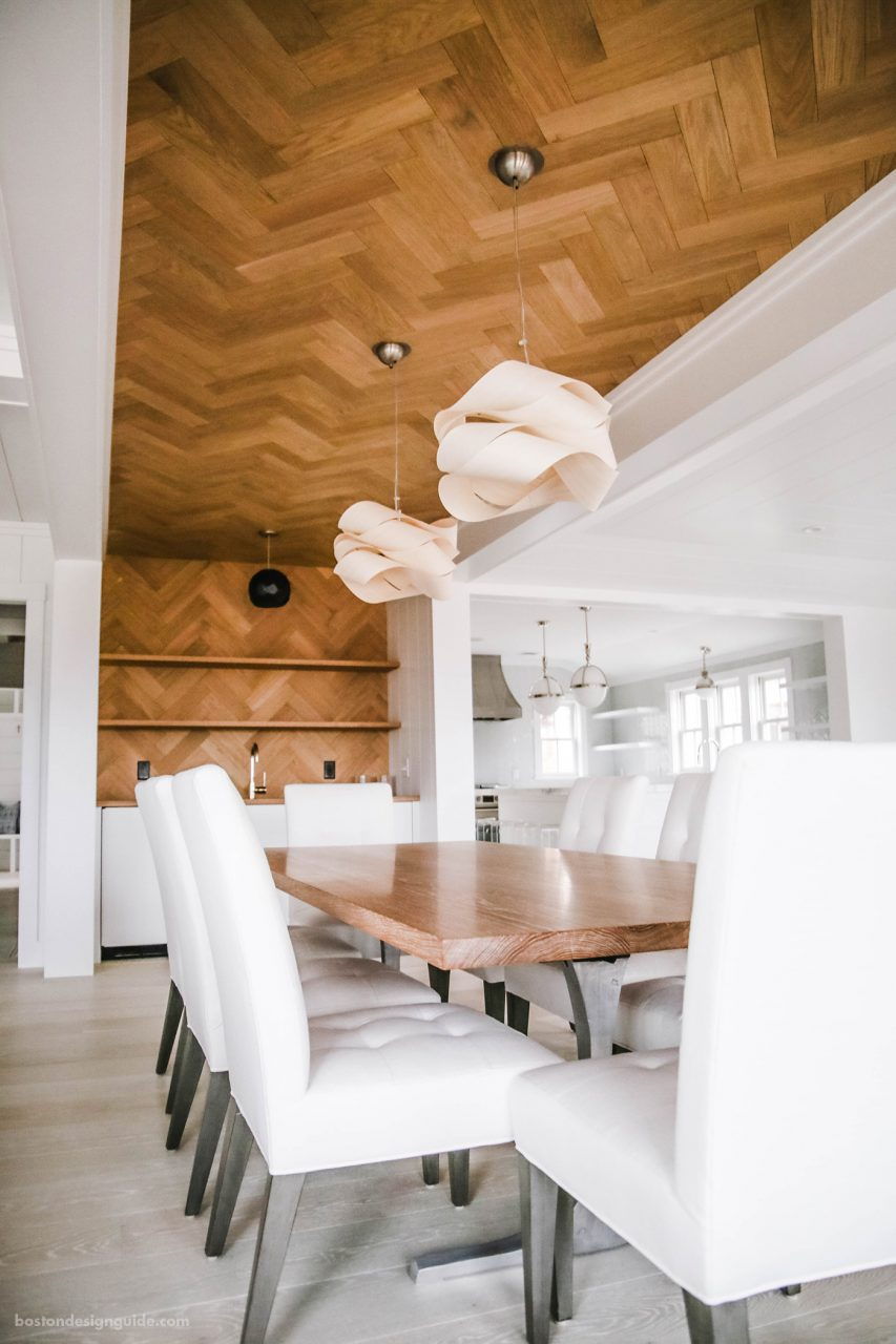 Flooring Looks Up Wood Ceilings And Accent Walls Boston Design Guide