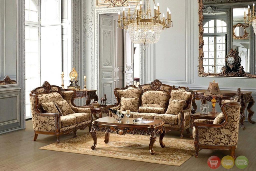Formal Living Room Sofas Classic Living Room Furniture Sets With