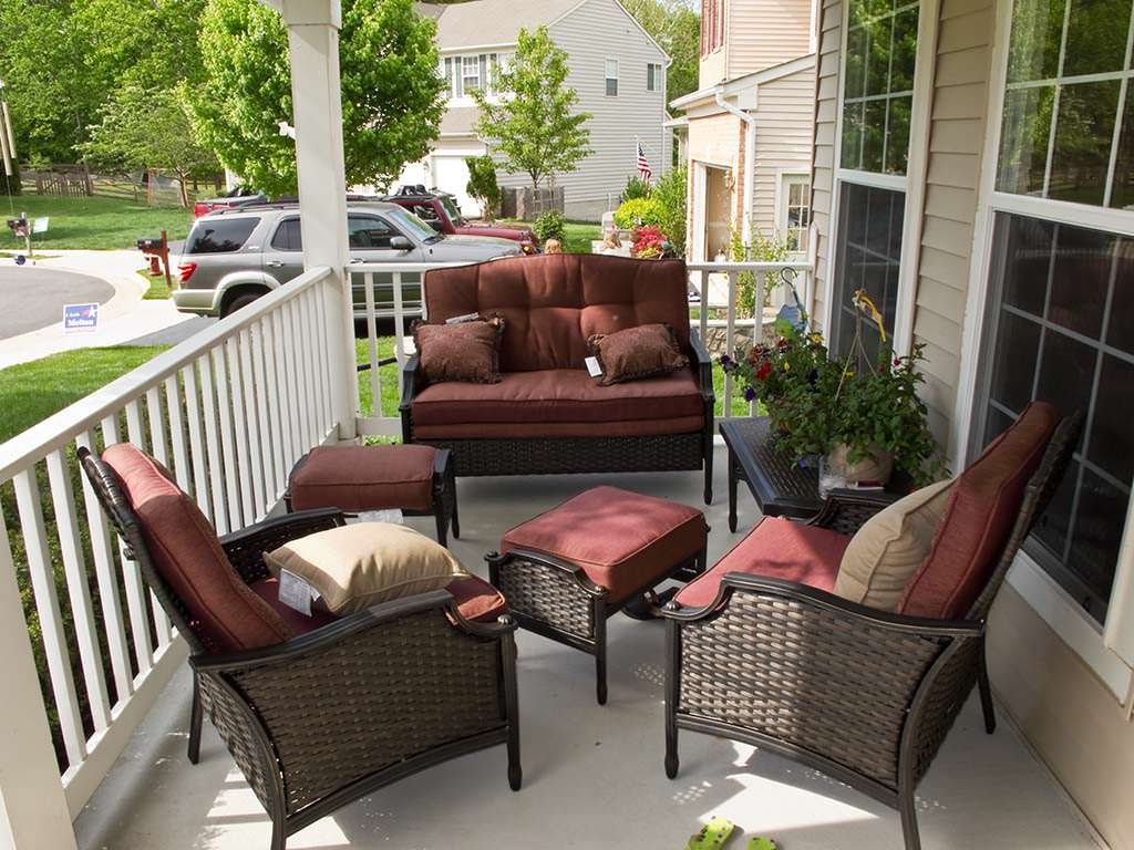 Front Porch Furniture Seating Outdoor Decorations