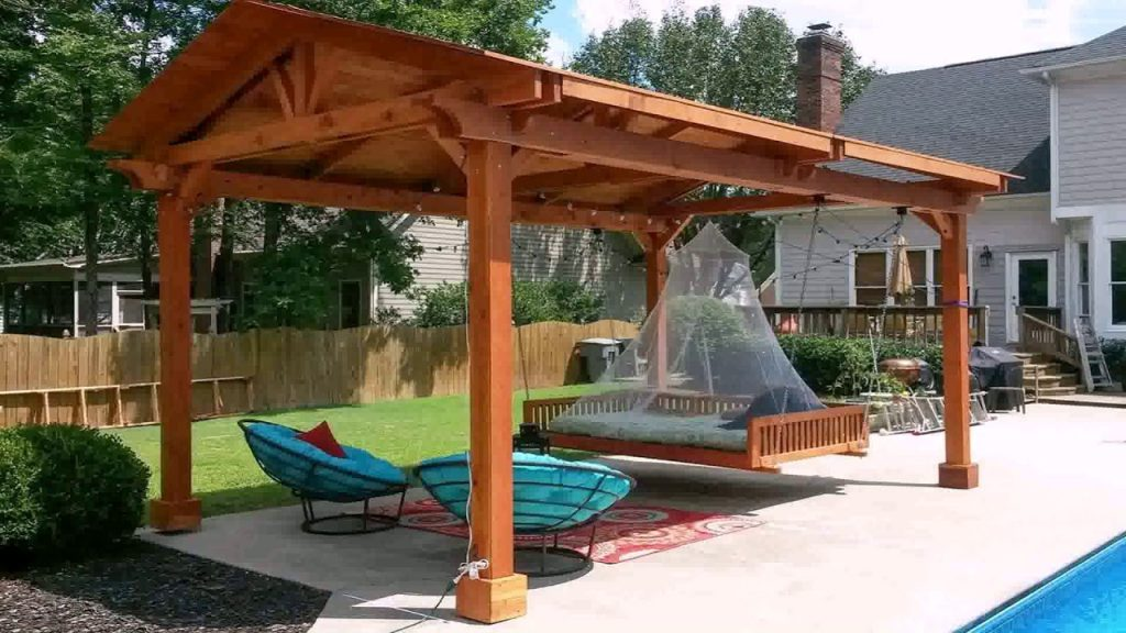Gable Roof Patio Cover Plans Youtube