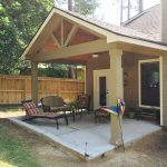 Gable Roof Patio Cover Design