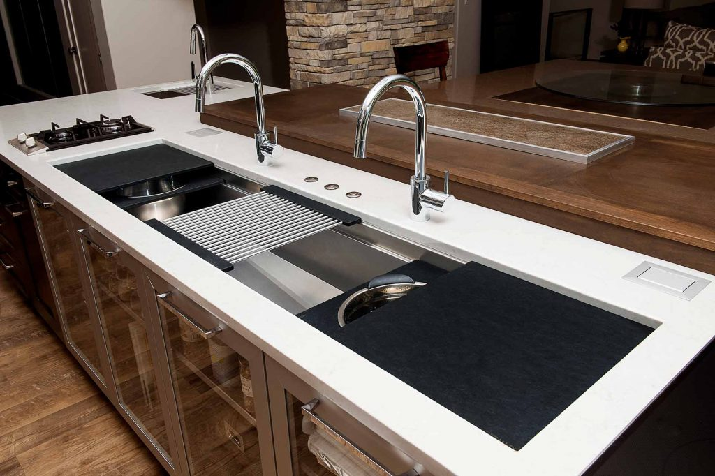 Galley Sink Galley Taps Ideal Workstation Laguna Beach Orange County
