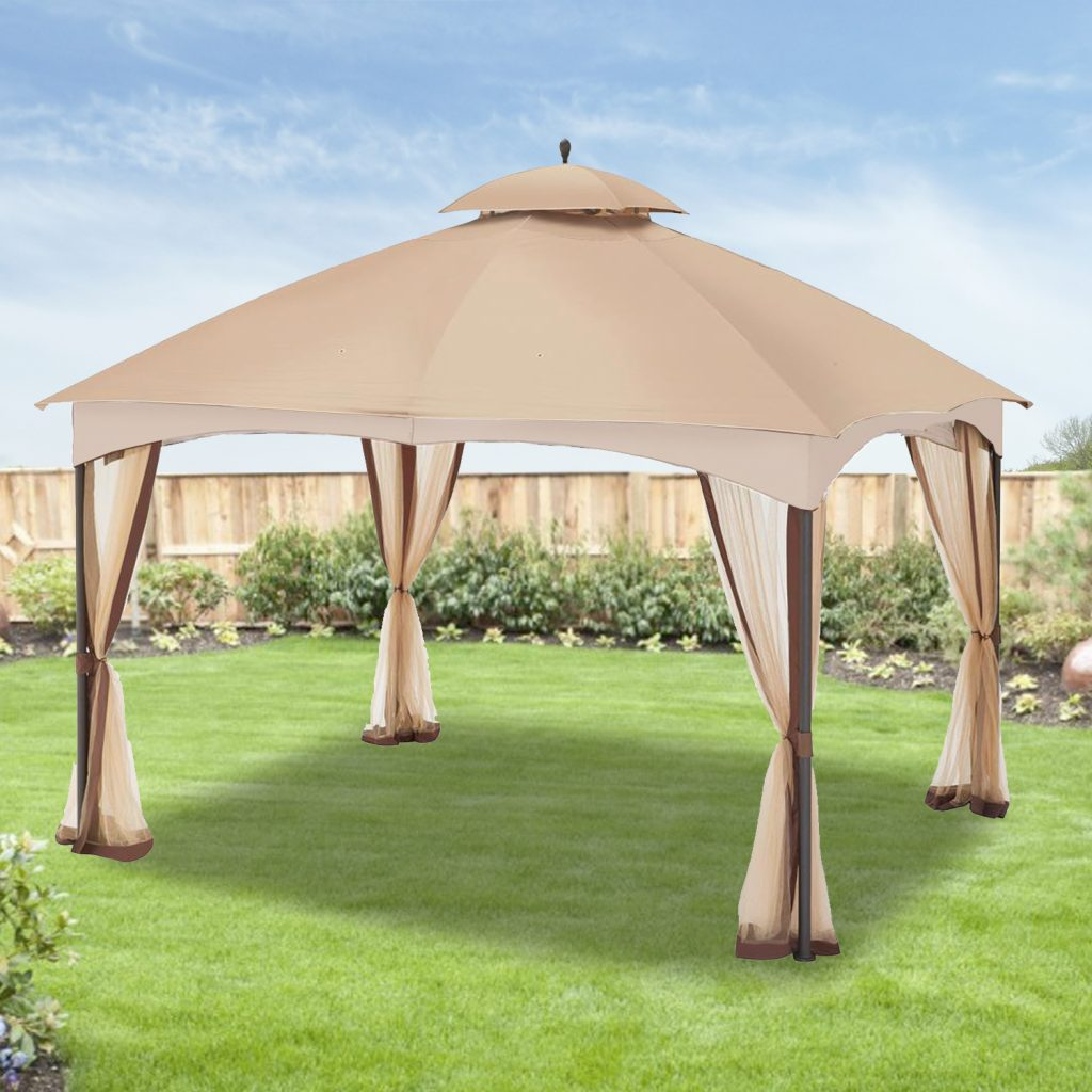 Garden Winds Replacement Canopy For The Massillon Biscayne Gazebo