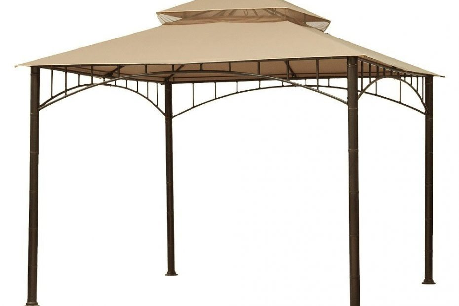 Garden Winds Replacement Canopy Top For Target Madaga Gazebo Beige