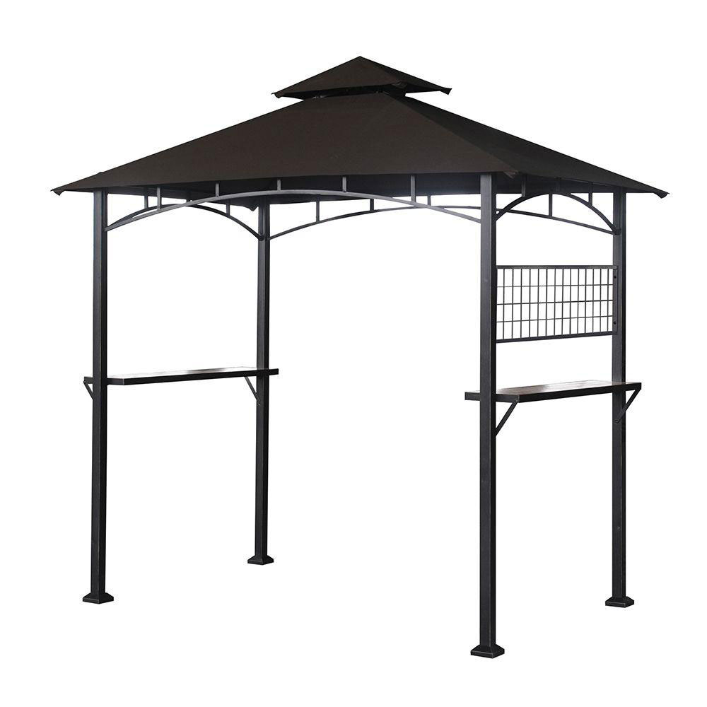 Garden Winds Replacement Canopy Top For The Tile Grill Bbq Gazebo