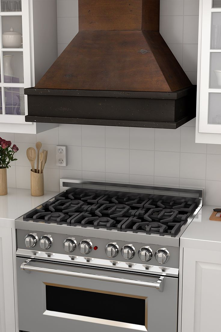 Give Your Home A New Look With A Custom Wooden Range Hood From Zline