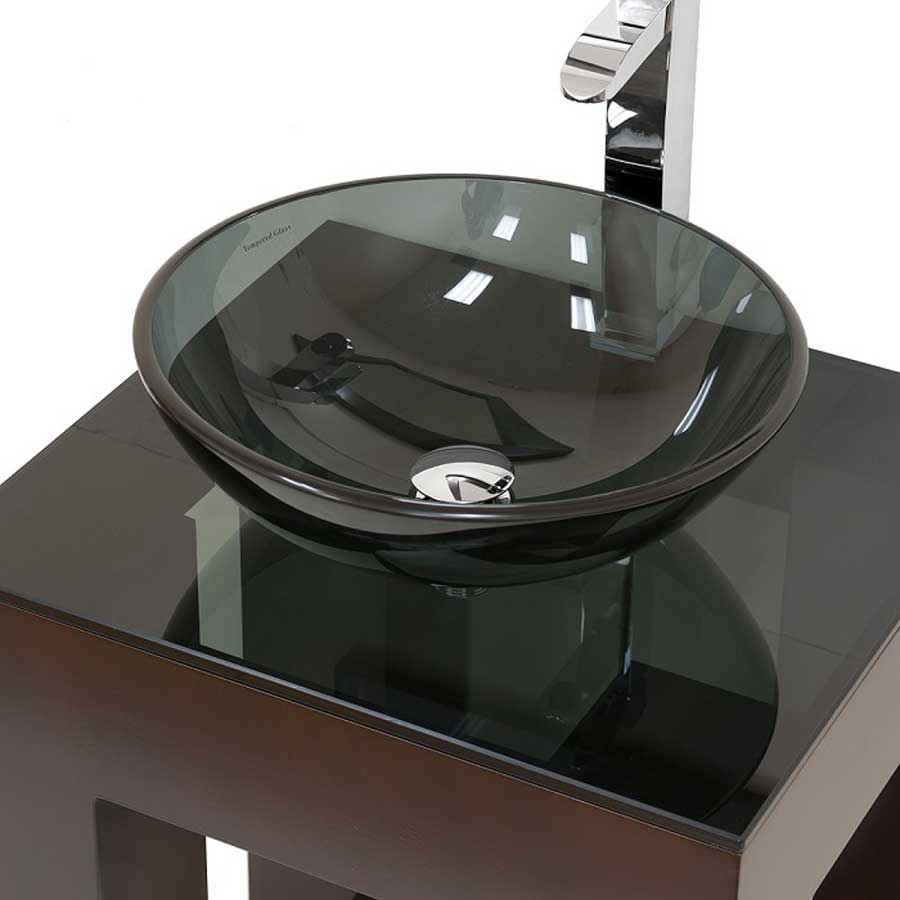 Glass Bowl Bathroom Sinks The New Way Home Decor The Trend Glass