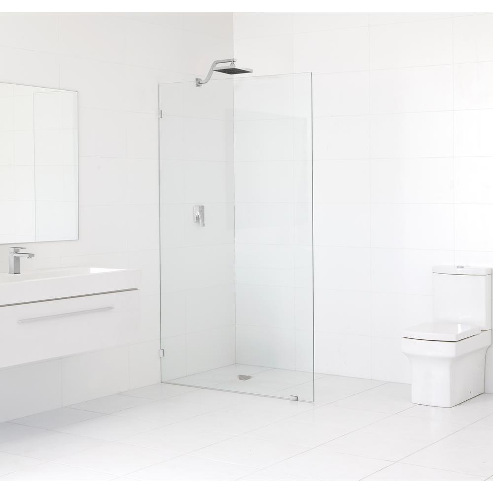 Glass Warehouse 48 In X 78 In Frameless Fixed Panel Shower Door In