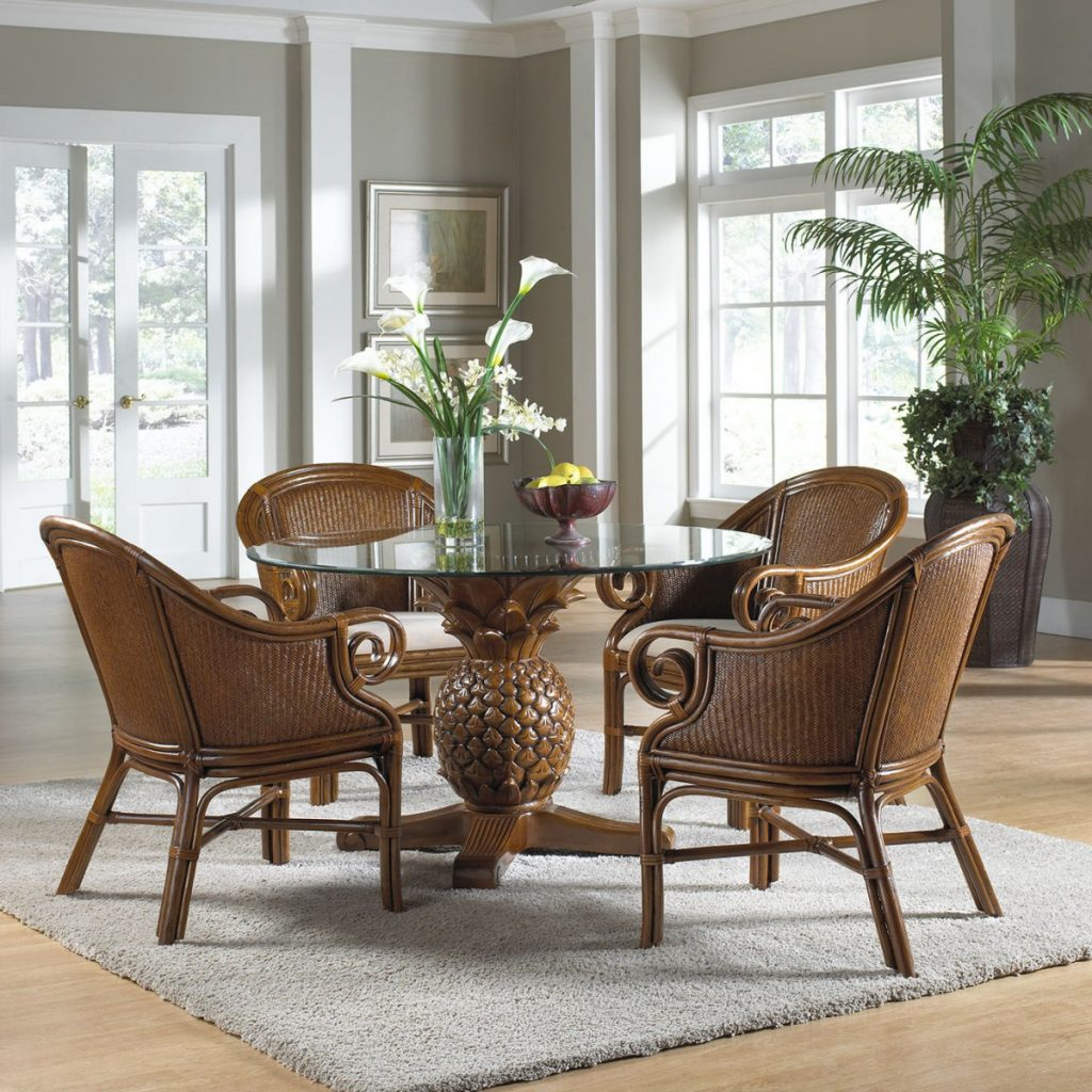 Good Indoor Wicker Dining Chairs