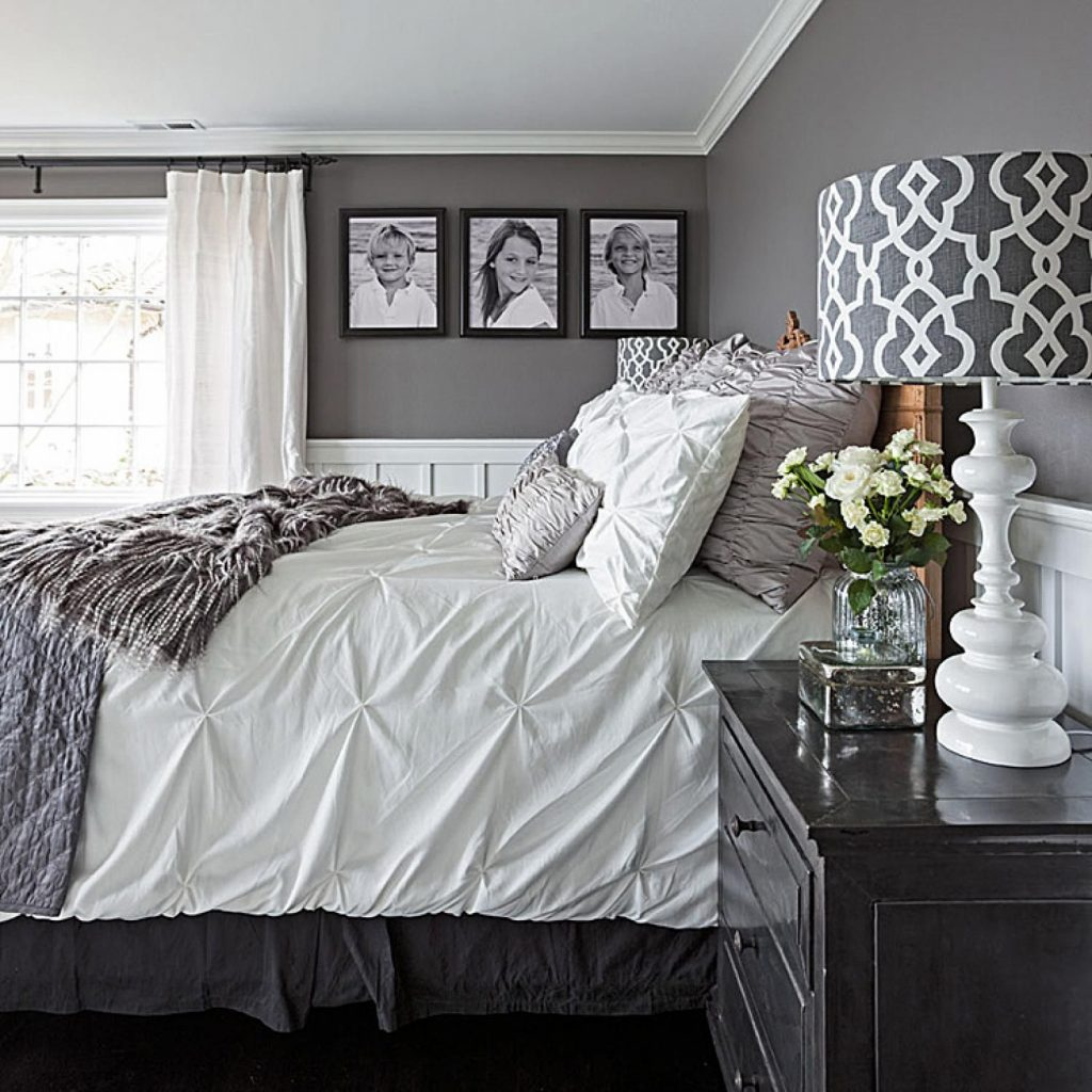 Gorgeous Gray And White Bedrooms Bedrooms Bedroom White Bedroom