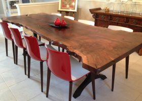 Slab Dining Room Table