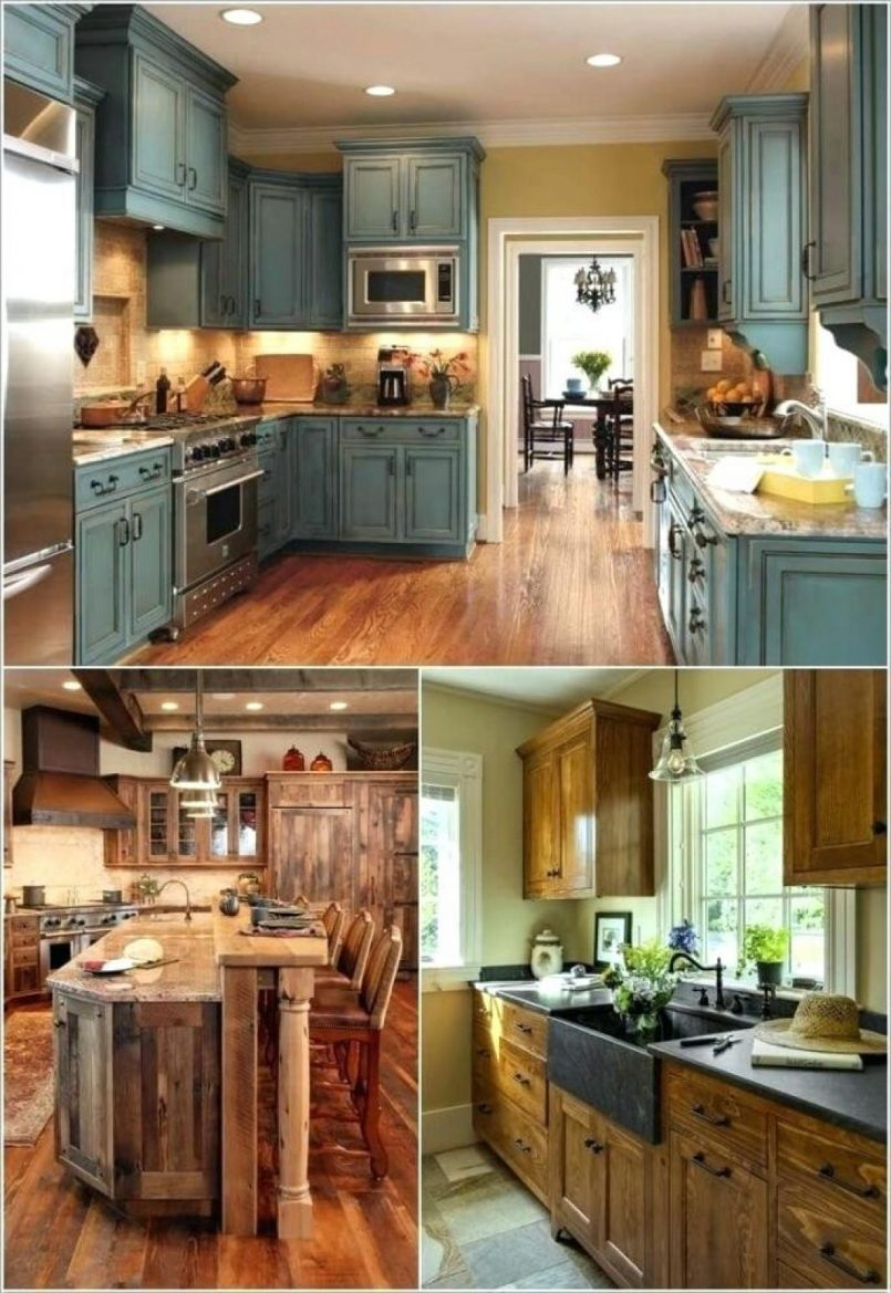 Home Accent Farm Home Decorating Ideas Primitive Country Kitchen
