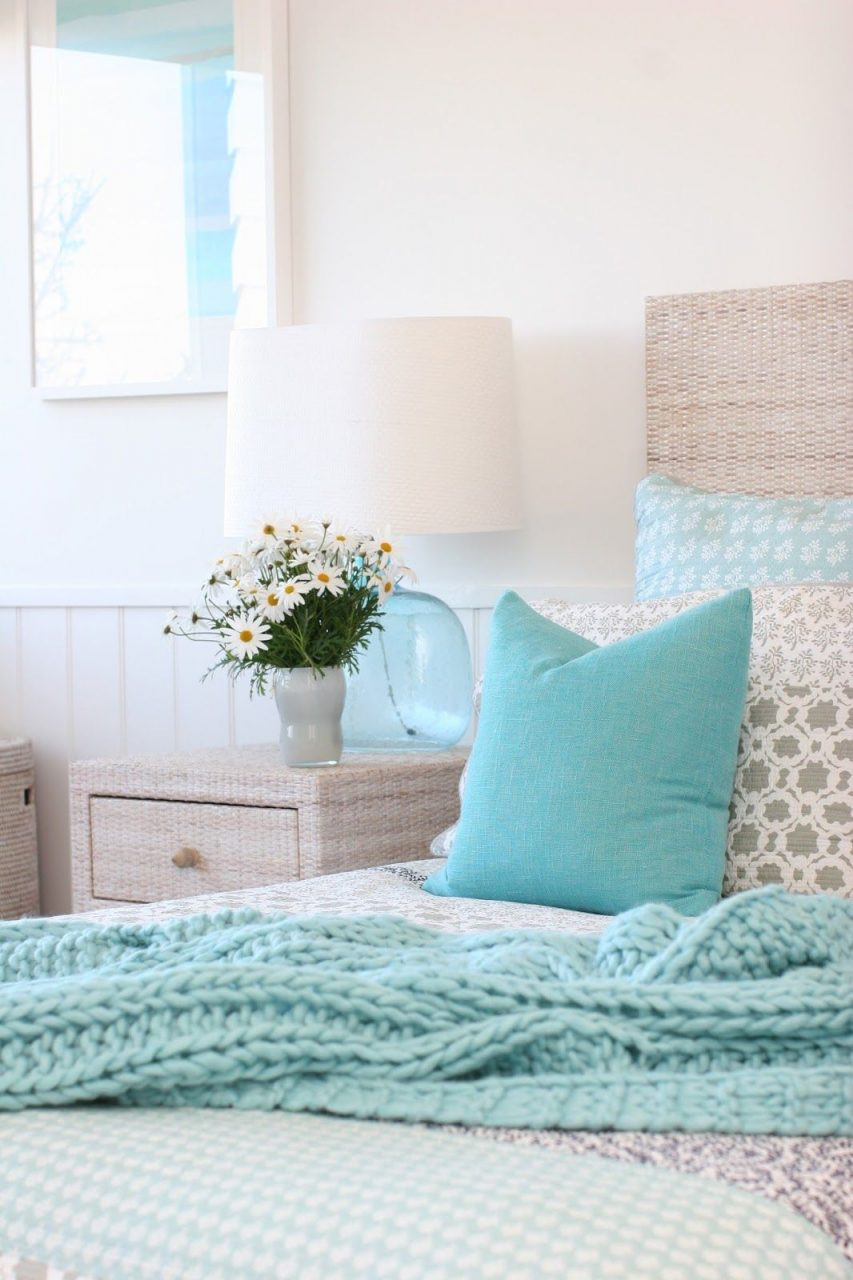 Home Decor Color Inspiration Light Aqua Blue Bedrooms Bedroom