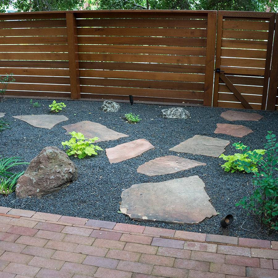 How To Build A Flagstone Patio With Moss Patio Ideas