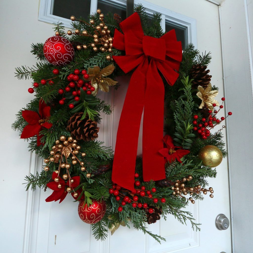 How To Make A Gourmet Homemade Christmas Wreath Simple Advent Wreath