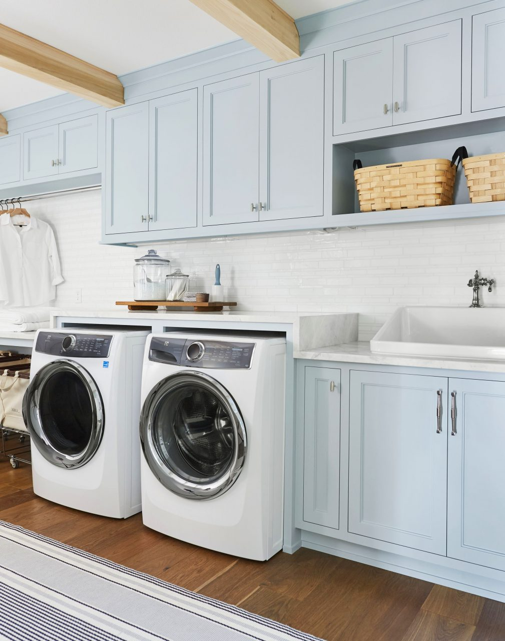 How We Designed A Family Friendly Laundry Room In The Portland